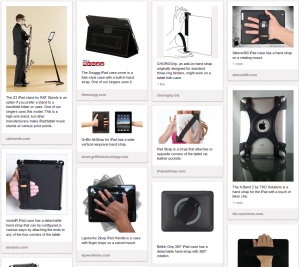 Pinterest pinboard image of iPad/Tablet Cases & Holders for Choral Singers