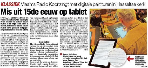 Credit: Het Belang Van Limburg / neoScores