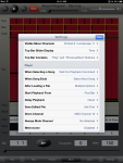 Sweet MIDI Player for iPad - Settings